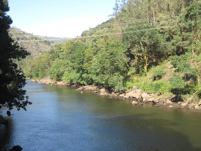 Río Tambre en Outes