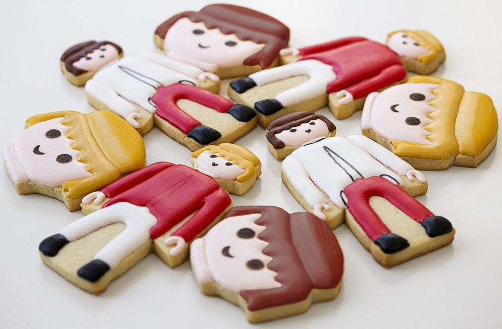 Galletas decoradas Playmobil