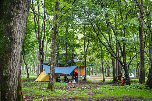 Arashimaya Campground (Memuro, Hokkaido, Japan)