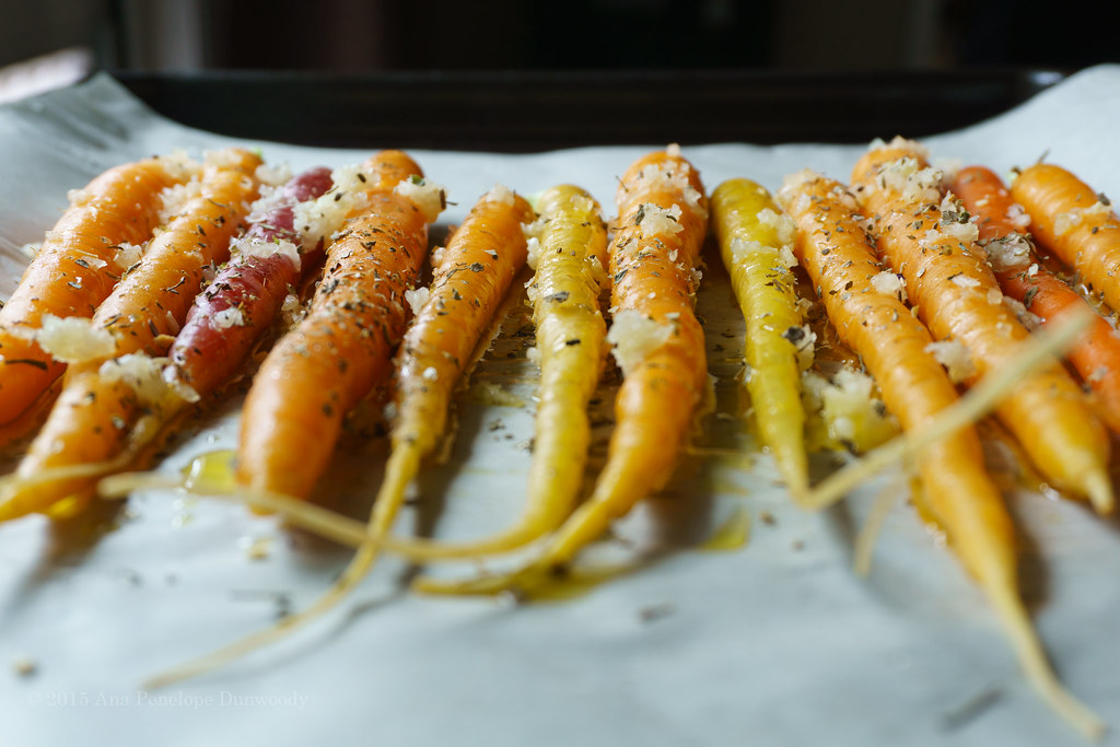 Roasted Carrots (before)