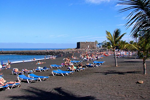 Playa Jardin. Tenerife. Spain