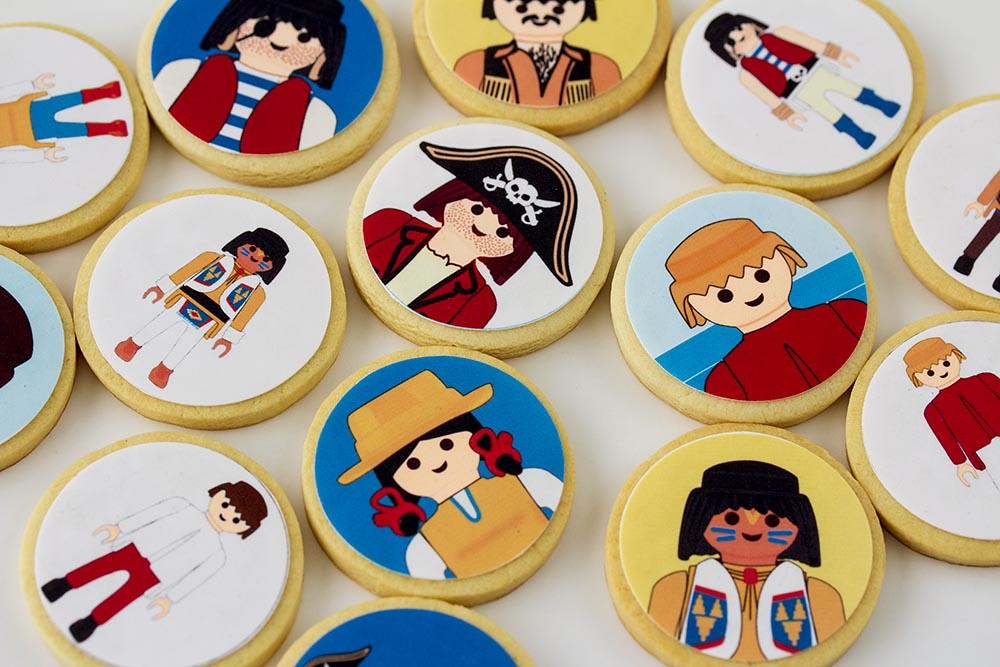 Galletas Playmobil