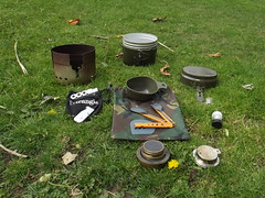 The Swedish M~44 army Enman'skok (one man stove) Unpacked by Alan 13-7