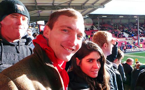 Brentford v Wolves - Feb 2014 - Anna's Wistful Smile ...