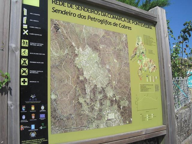 Panel Informativo PR-G 103 Sendeiro dos Petroglifos de Cobres