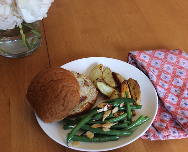 turkey-burgers-green-beans