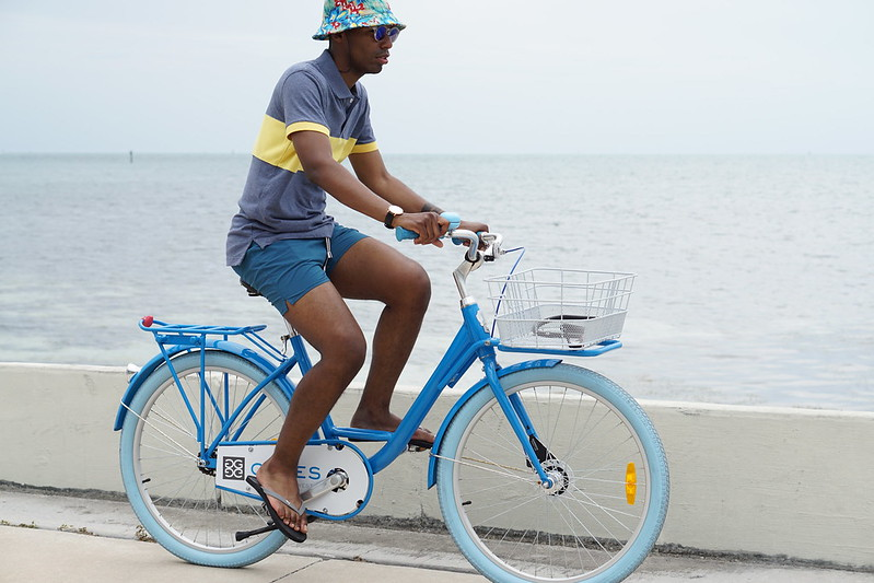Biking In Key West