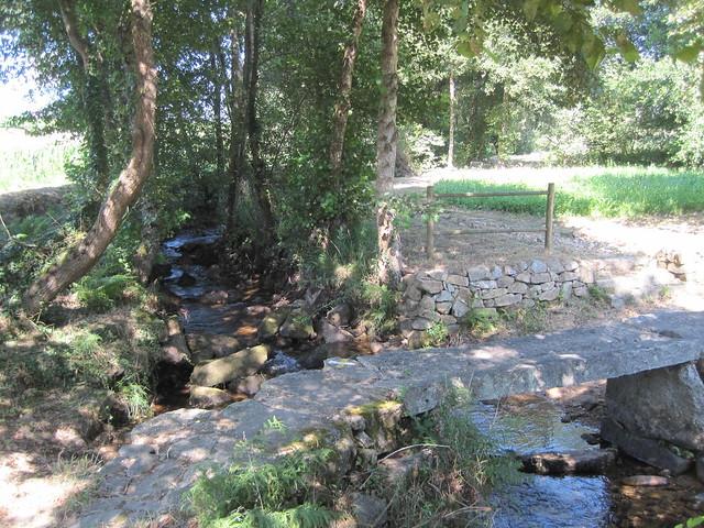 Pontella en el PR-G 171 Ruta do Río San Martiño