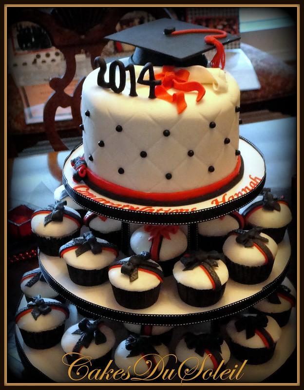 Graduation Cupcake Tree
