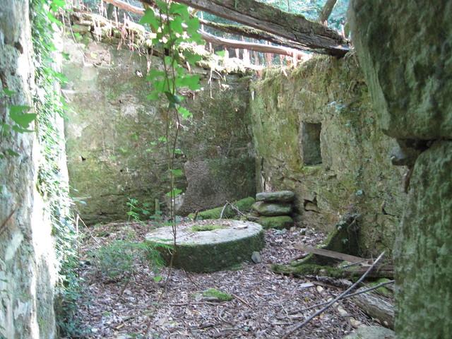 Ruinas de Molino en el PR-G 171 Ruta do Río San Martiño