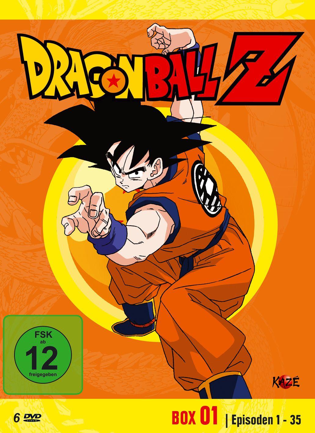 DragonballZ Box 1