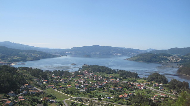 Ensenada de San Simón en Vilaboa en Pontevedra