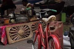 Sepeda Merah