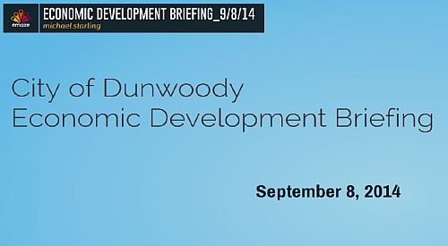 http://jkheneghan.com/city/meetings/2014/Sep/Dunwoody%20Econ%20Devel%20Update%202014.pdf