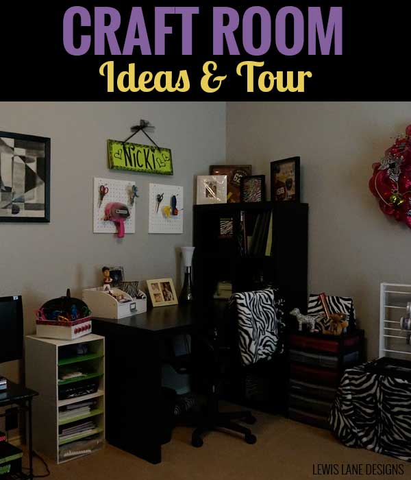 Craft Room Ideas & Tour by Lewis Lane