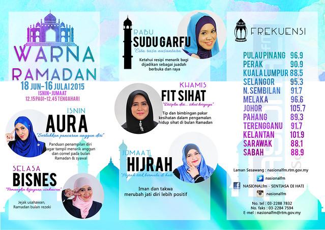 Nasionalfm Rancangan Ramadan _ Warna Ramadan 2015