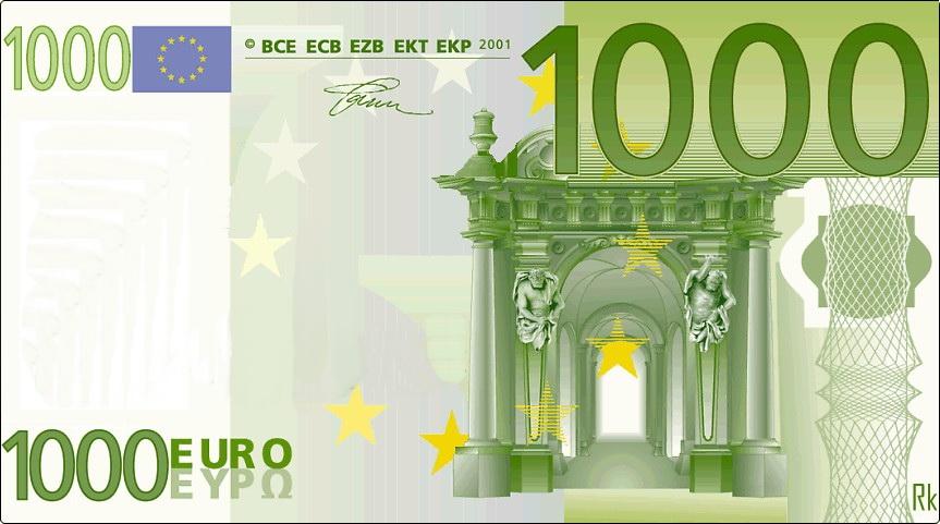 1000 eurų.