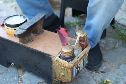 Istanbul - Ali and Tanju shoe polish