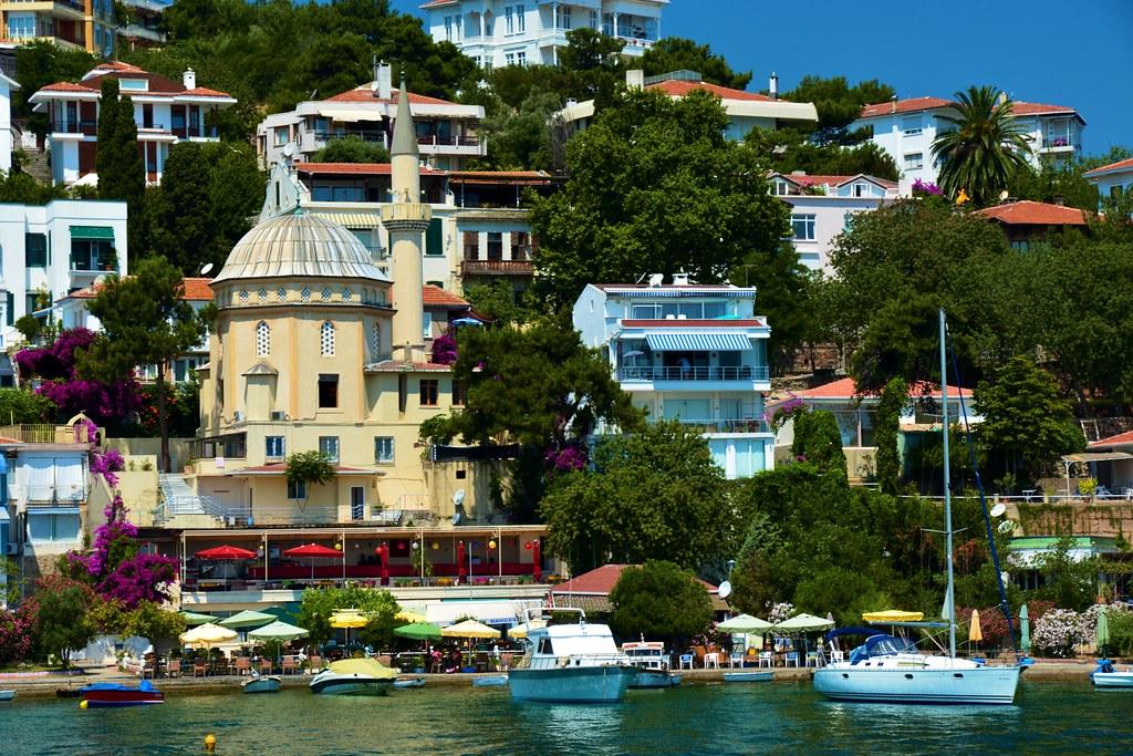 Burg azalea Island, Istanbul Turkey