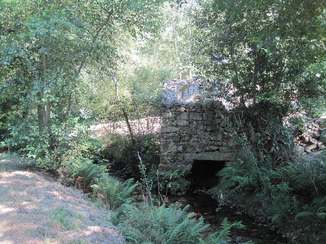 Molino en el PR-G 171 Ruta do Río San Martiño
