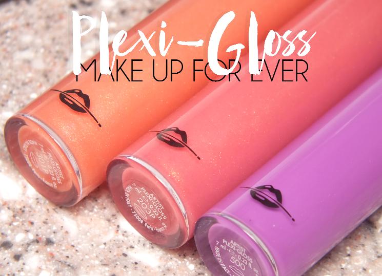 makeup for ever artist plexi gloss 301P, 203P, 500 (3)