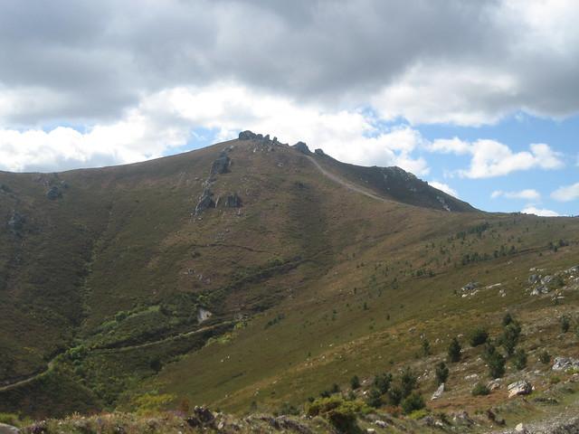 Cortafuegos en el PR-G 144 Ruta Natural dos Castros e Nivieira
