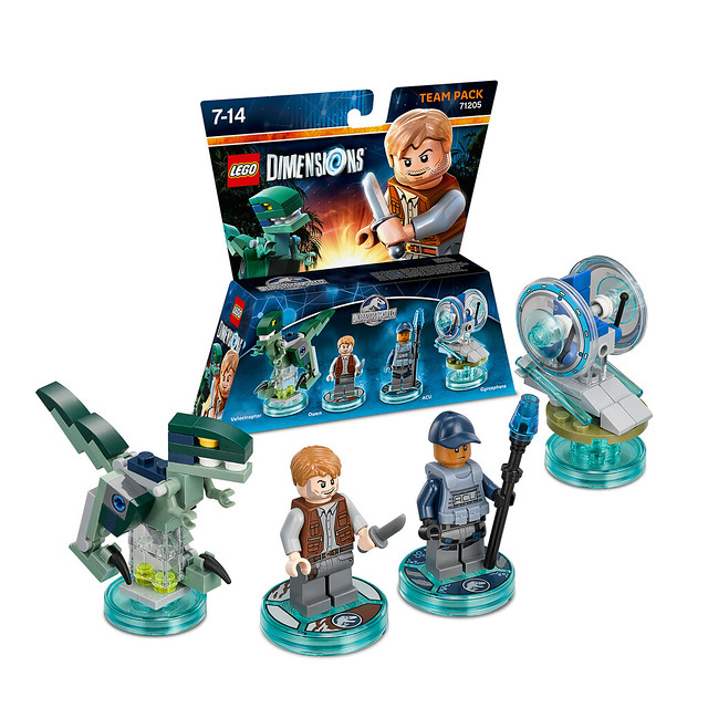 LEGO Dimensions Amazon: 71205 - Jurassic World Team Pack