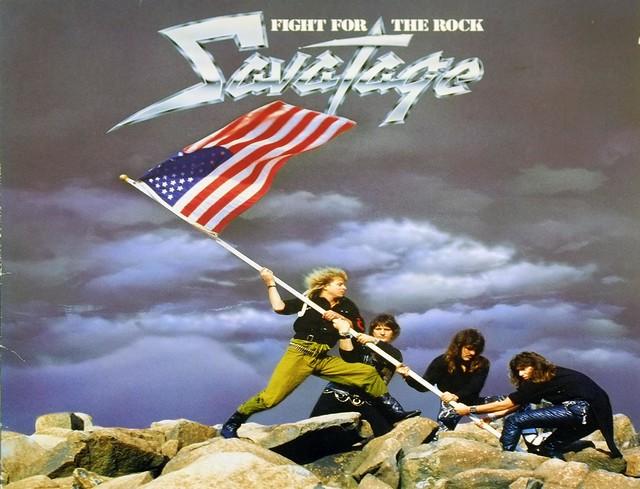 "SAVATAGE Fight for the Rock 12"" LP ALBUM VINYL"