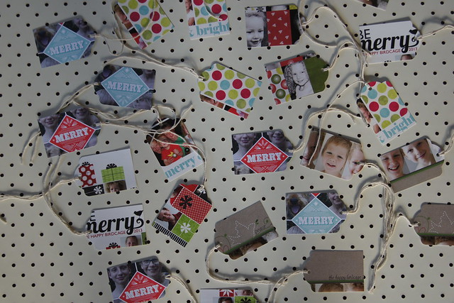 Upcycled Christmas gift tags DSC05104
