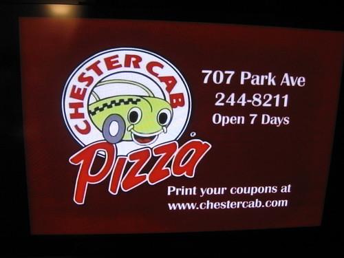 2011-07-03 WROC Chester Cab Ad
