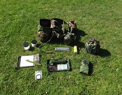 All this kit packs into the S10 gas mask bag by Alan 13-7