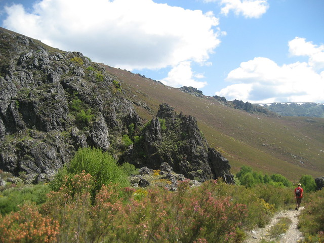Valle Meladas en la Ascensión a Pena Trevinca
