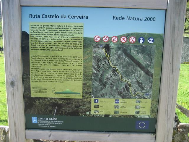 Panel Informativo Ruta Castelo da Cerveira