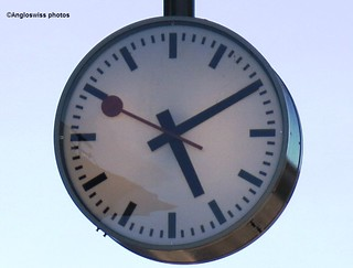 Station clock Solothurn