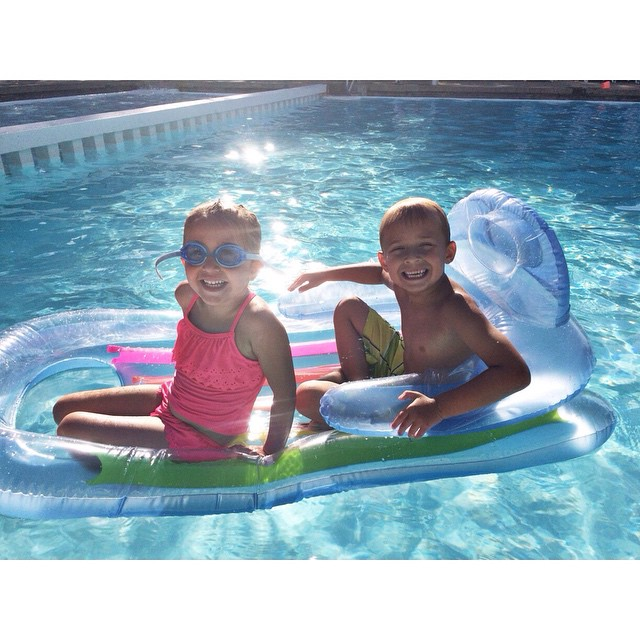 Friends at the pool are the best! #missz #andfriend #summer2015