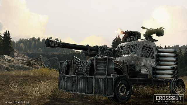 Crossout Lets You Build Your Own Post-Apocalyptic Vehicle