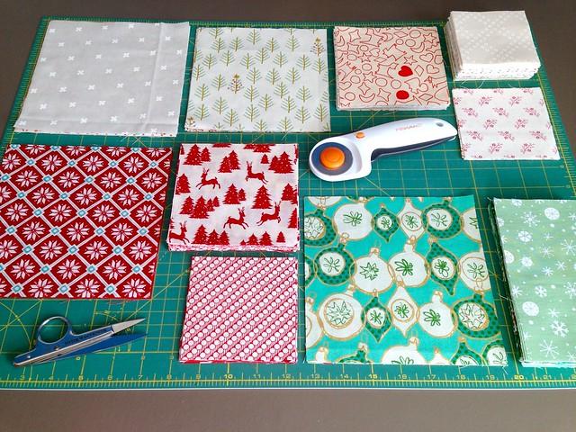 Merry Medallion Cut Fabrics