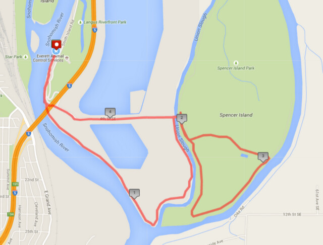 Today's awesome walk, 4.68 miles in 1:33, 10,072 steps