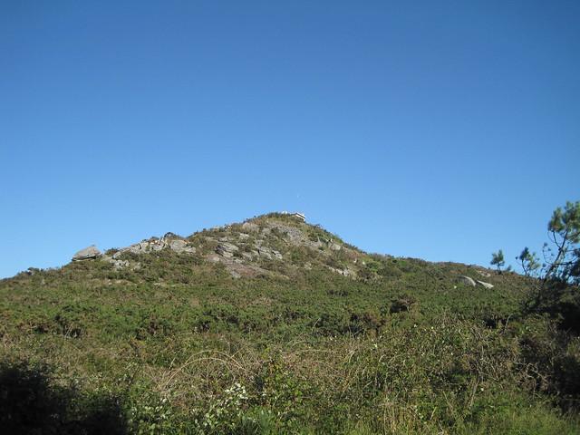 Monte Castelo en el Ruta Ponte Nafonso - Tambre