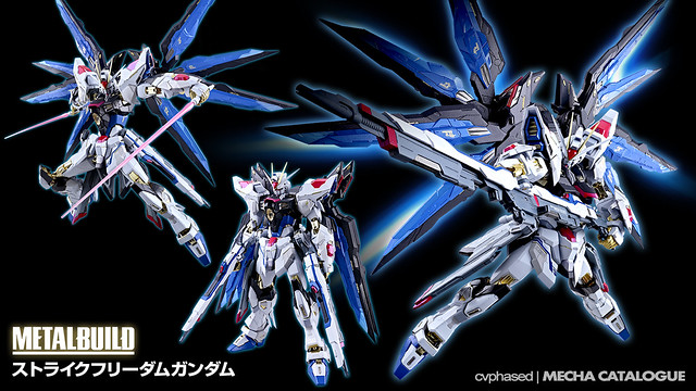 METAL BUILD Strike Freedom Gundam - Updates