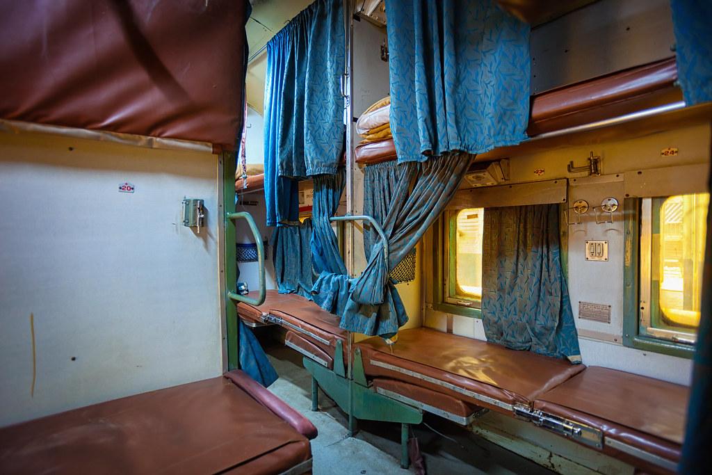 Clase AC3 Tren India