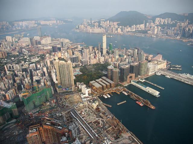Ozone Bar on 118th Floor at the Ritz-Carlton in HK