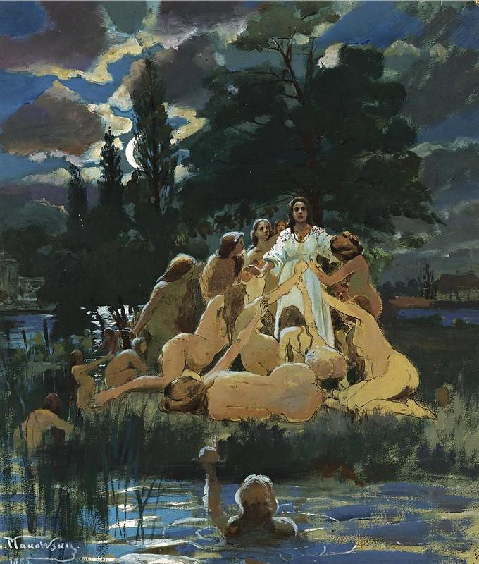 Konstantin Egorovich Makovsky - Mermaids (1885)