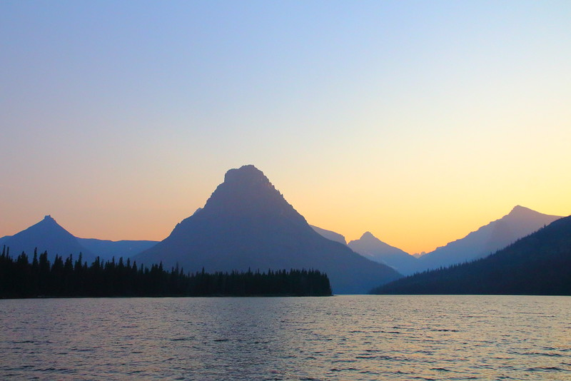 IMG_3369 Two Medicine Lake at Dusk, Glacier National Park