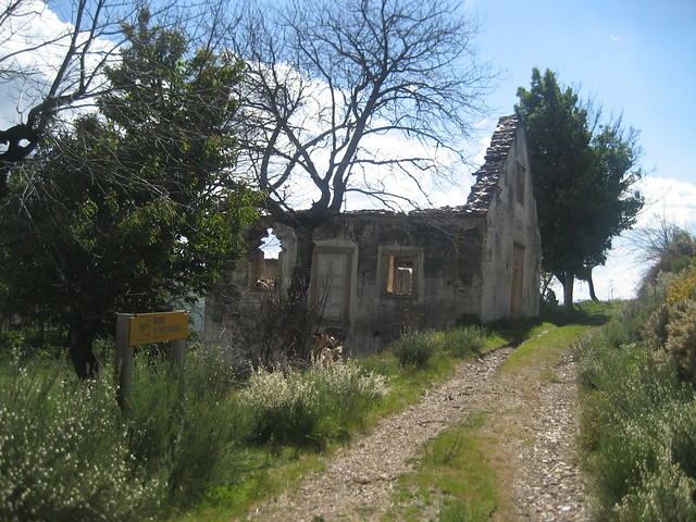 Minas de wolframio en la Ascensión a Pena Trevinca