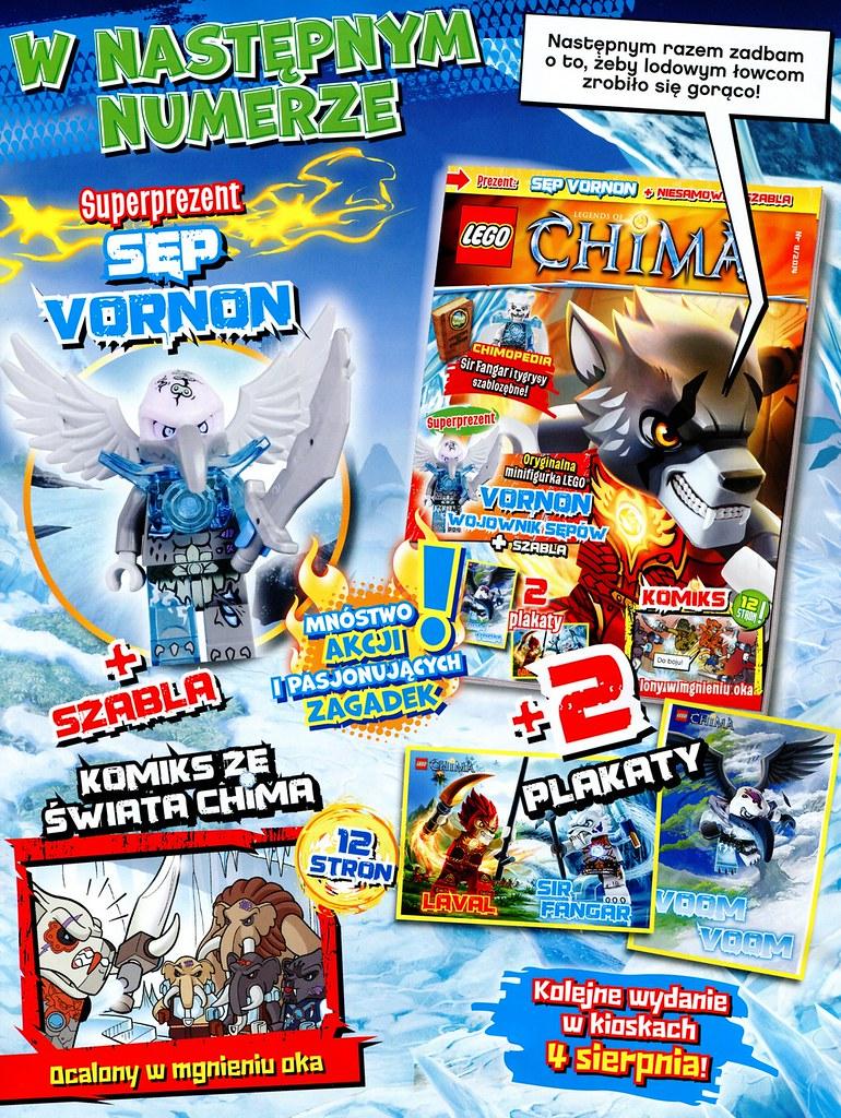 Lego Chima Vornon Lego Legends of Chima