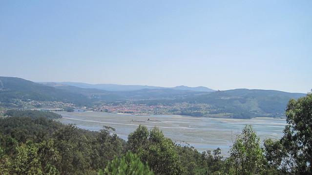 Ensenada de San Simón en Vilaboa