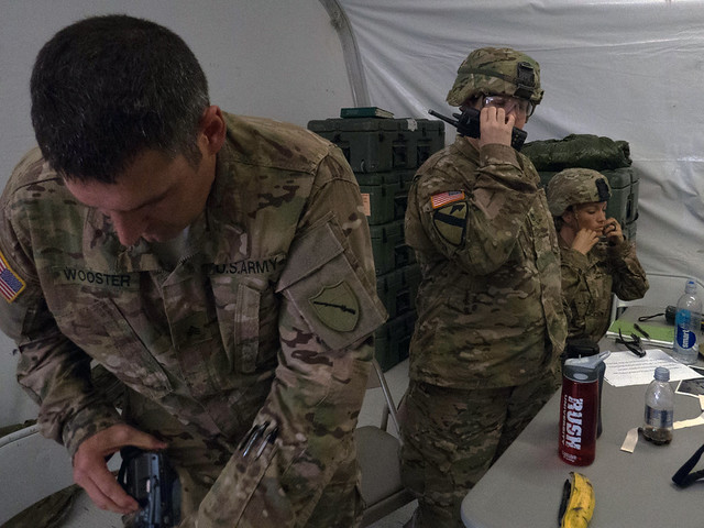 1163rd ASMC medics train to deploy