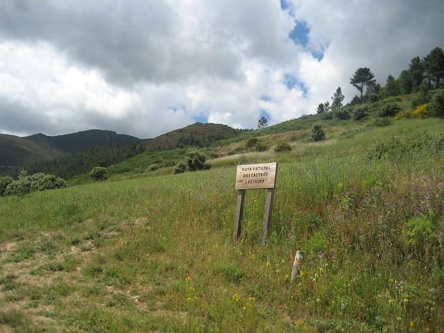 Campo en el PR-G 144 Ruta Natural dos Castros e Nivieira
