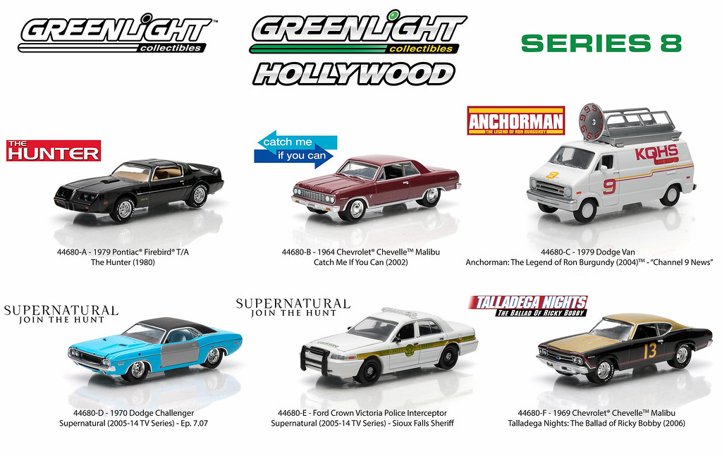 1:64 Hollywood 8